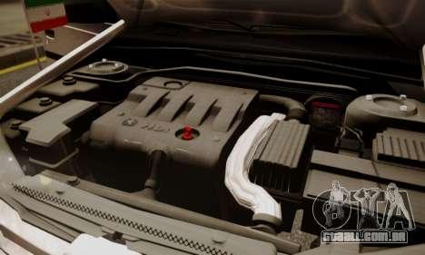 Peugeot Pars Limouzine para GTA San Andreas vista inferior