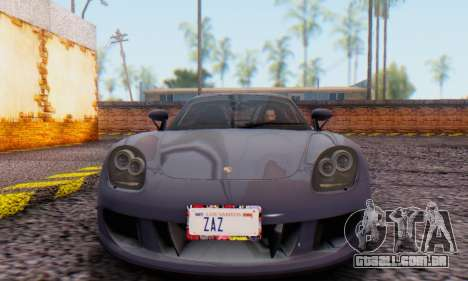 Porsche Carrera GT 2005 para GTA San Andreas esquerda vista