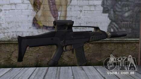 XM8 Compact Black para GTA San Andreas segunda tela