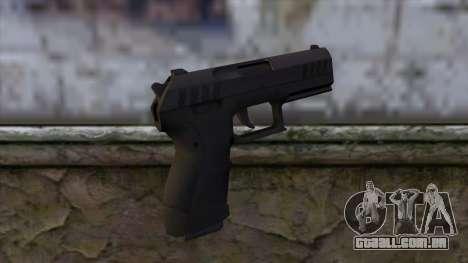Combat Pistol from GTA 5 v2 para GTA San Andreas segunda tela