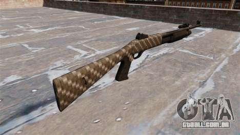 Ружье Benelli M3 Super 90 fibra de carbono para GTA 4 segundo screenshot