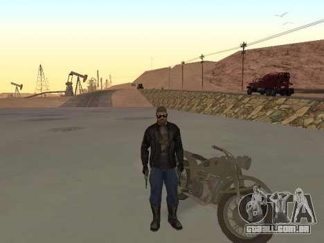 Ural M72 para GTA San Andreas vista direita