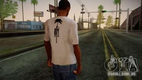 Afri Cola White Shirt para GTA San Andreas segunda tela