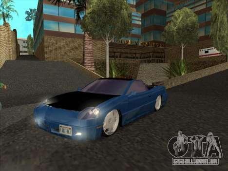 Alpha HD Cabrio para GTA San Andreas