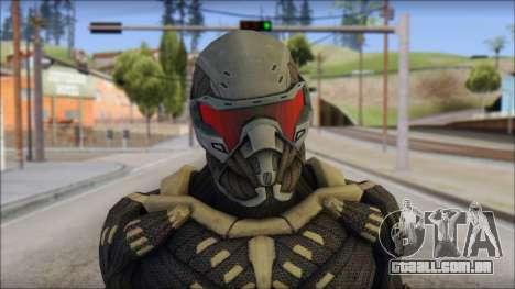 NanoSuit Skin para GTA San Andreas terceira tela