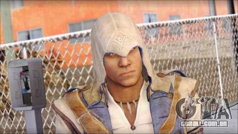 Connor Kenway Assassin Creed III v1 para GTA San Andreas terceira tela