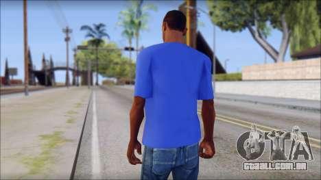 Black Sabbath T-Shirt v3 para GTA San Andreas segunda tela