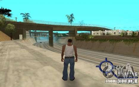 Warning Attack para GTA San Andreas terceira tela