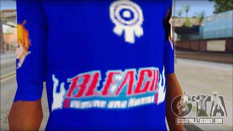 IchiRuki T-Shirt para GTA San Andreas terceira tela