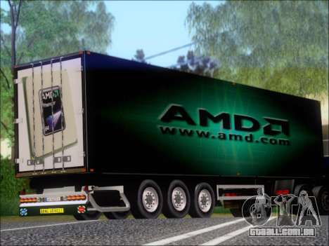 Trailer AMD Phenom X4 para GTA San Andreas vista direita