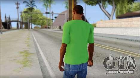 Pozilei T-Shirt para GTA San Andreas segunda tela