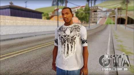 Tapout T-Shirt para GTA San Andreas