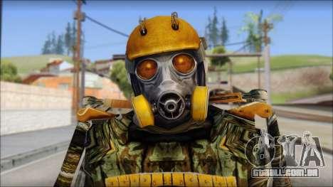 Exoskeleton para GTA San Andreas terceira tela