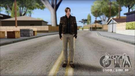 Leon Kennedy from Resident Evil 6 v3 para GTA San Andreas