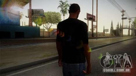 Zombie Polo Shirt para GTA San Andreas segunda tela
