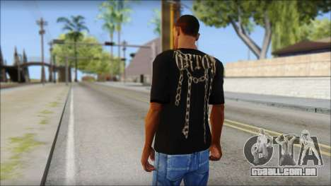 Randy Orton T-Shirt para GTA San Andreas segunda tela