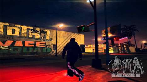 [ENB] Kings of the streers para GTA San Andreas por diante tela