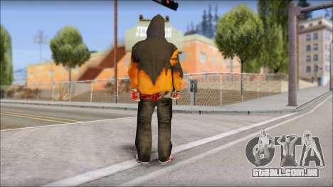 Manhunt Skin para GTA San Andreas segunda tela
