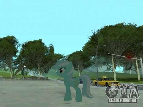 Lyra para GTA San Andreas quinto tela