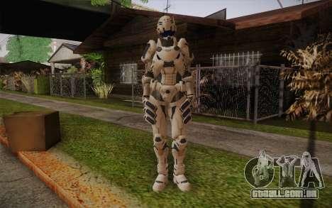 Suit from Vanquish para GTA San Andreas