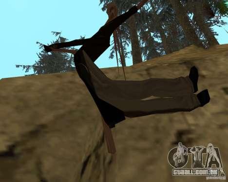 Raspredelitel para GTA San Andreas segunda tela