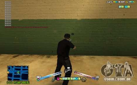 C-HUD Expert para GTA San Andreas terceira tela