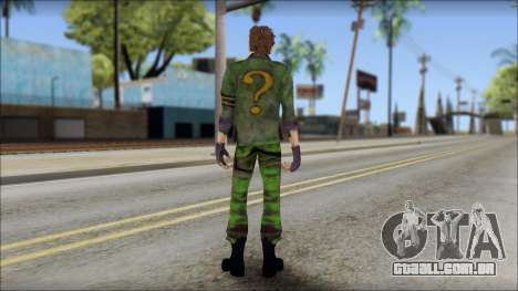 Riddler para GTA San Andreas segunda tela