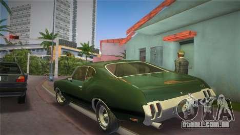 Oldsmobile 442 1970 para GTA Vice City deixou vista