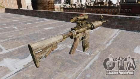 Automatic carbine ME Camuflagem Flora para GTA 4 segundo screenshot