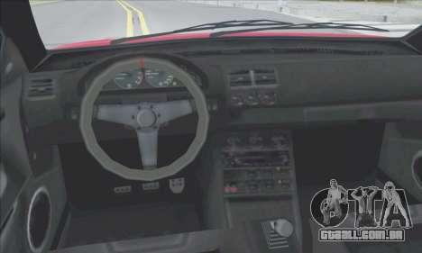 A superioridade Sentinela XS para o motor de GTA San Andreas