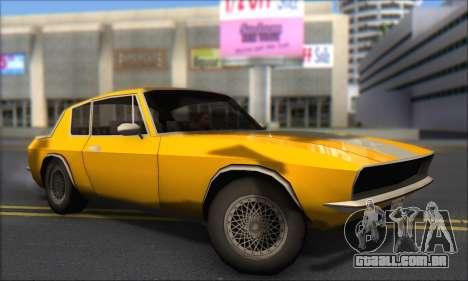 Jensen Intercepter 1971 Fast And Furious 6 para GTA San Andreas