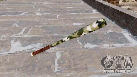 Taco de beisebol Camo A013 para GTA 4 segundo screenshot