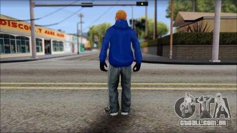 Jimmy from Bully Scholarship Edition para GTA San Andreas terceira tela