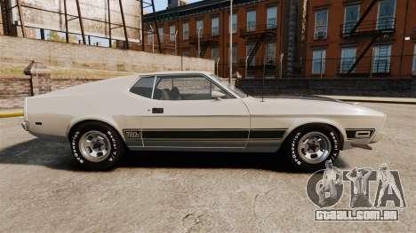 Ford Mustang Mach 1 1973 v3.0 GCUCPSpec Edit para GTA 4 esquerda vista