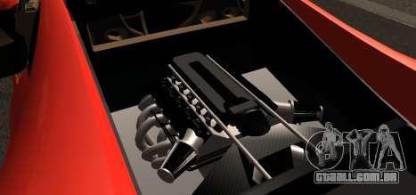 Spano Black para GTA San Andreas vista direita