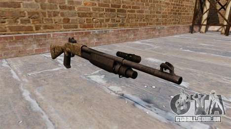 Ружье Benelli M3 Super 90 devgru para GTA 4