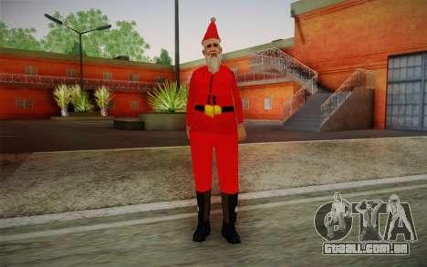 Papai Noel para GTA San Andreas
