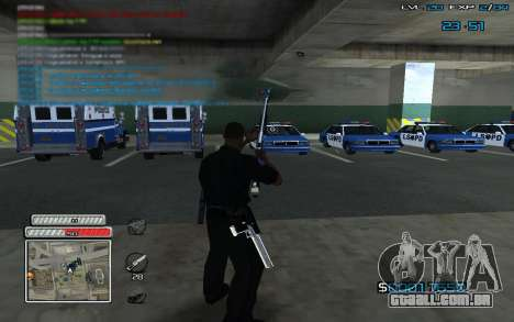 New C-HUD v.2 para GTA San Andreas terceira tela