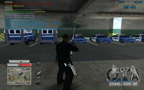 New C-HUD v.2 para GTA San Andreas terceira tela