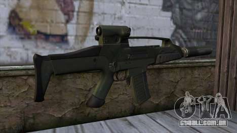 XM8 Compact Green para GTA San Andreas segunda tela