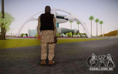 Fuerzas Especiales para GTA San Andreas segunda tela