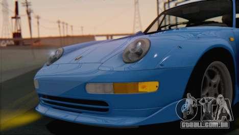 Porsche 911 GT2 (993) 1995 V1.0 SA Plate para GTA San Andreas vista interior