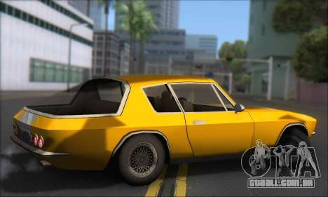 Jensen Intercepter 1971 Fast And Furious 6 para GTA San Andreas traseira esquerda vista