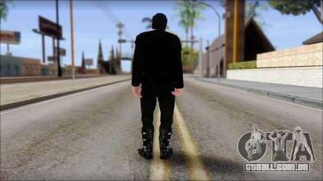 Till Lindemann Skin para GTA San Andreas segunda tela