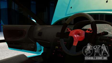 Nissan Silvia S13 v1.0 para GTA 4 vista lateral