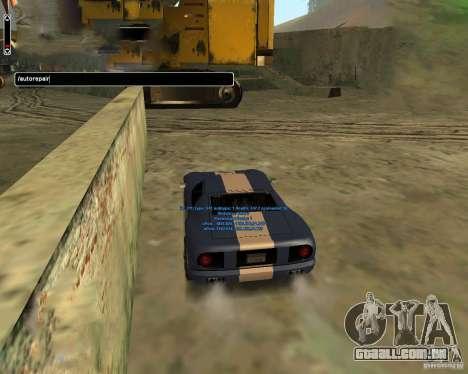 Autorepair para GTA San Andreas terceira tela
