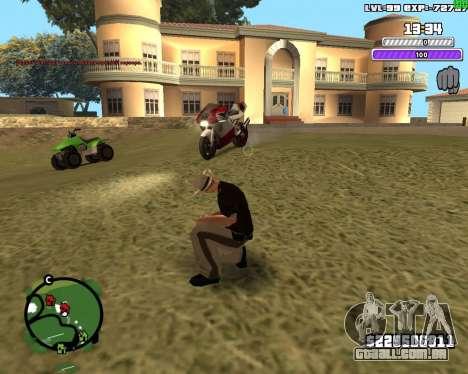 C-HUD by Weezy para GTA San Andreas terceira tela
