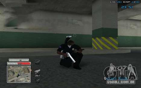 New C-HUD v.2 para GTA San Andreas segunda tela