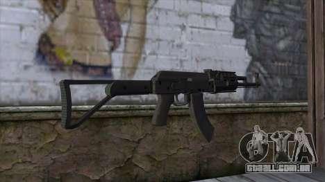 Assault Rifle from GTA 5 v2 para GTA San Andreas segunda tela