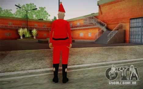 Papai Noel para GTA San Andreas segunda tela